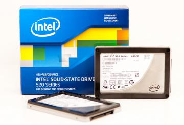 Ổ cứng SSD 180GB Intel SSD 520 Series 2.5in SATA 6Gb/s, 25nm, MLC