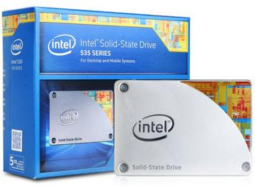 Ổ cứng SSD 480GB Intel SSD 535 Series 2.5in SATA 6Gb/s, 16nm, MLC